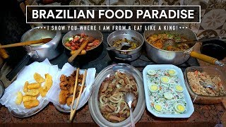 Best BRAZILIAN FOOD! Steaks, Picanha, Chicharrón, Desserts and More!