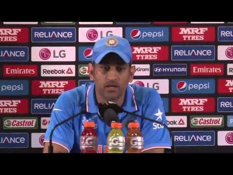 2015 WC: MS Dhoni says he is not happy Ravindra Jadeja