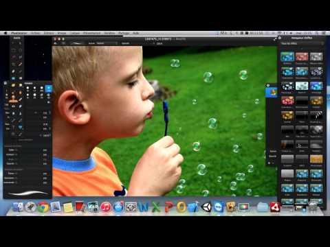 PixelMator - Logiciel de retouche photo pour MAC