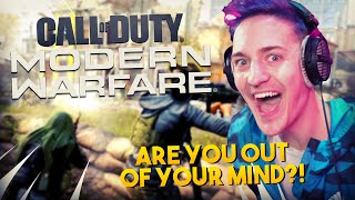 NINJA GOES BEASTMODE IN COD MODERN WARFARE!