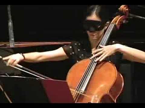 Dolce Suono Trio Plays George Crumb's Vox Balaenae Part 1 of 2