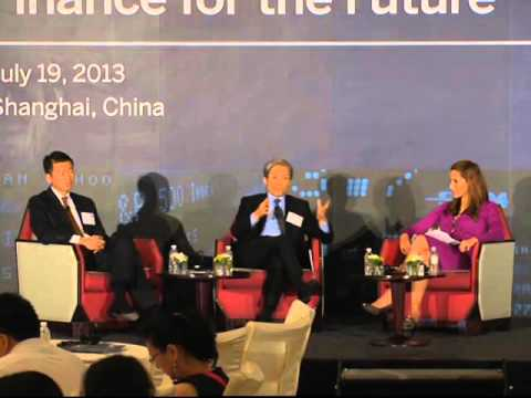 Finance for the Future Shanghai 2013: Panel on Leading Financial Organizations