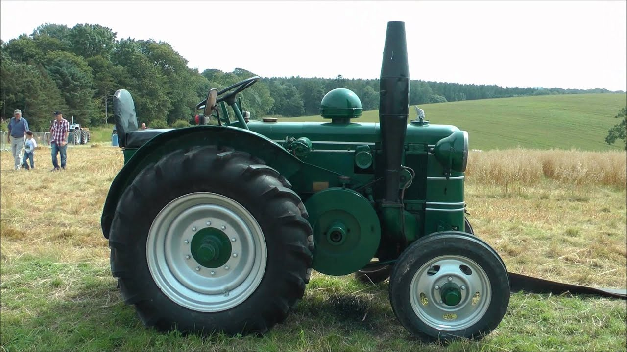 Vintage Field Marshall Tractor Youtube