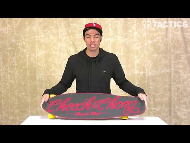"Flip Cheech & Chong Shred Sled 36"" Cruzer Complete Longboard Review - Tactics.com"