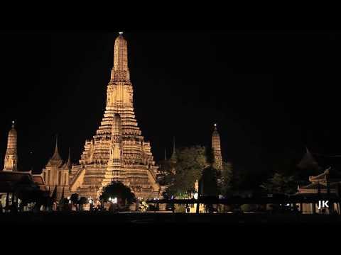 Bangkok River Cruise at Night, Thailand, 2012