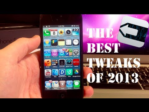 Top 20 Best Cydia Tweaks and Apps - 2013
