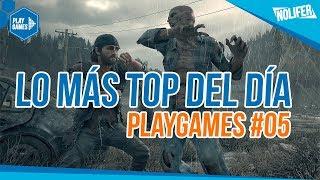 LO MÁS TOP DEL DÍA #05 ¡DAYS GONE,CYBERPUNK,RED DEAD REDEMPTION 2! - PS4 - XBOX ONE - ESPAÑOL