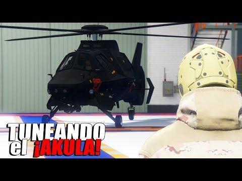 GTA Online - Tuneando el nuevo helicóptero Akula ''Golpe del fin del mundo''