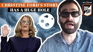 Christine Ford's Story Has A HUGE Hole | The Matt Walsh Show Ep. 115