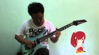 Fairy Tail Erza Theme Guitar Cover