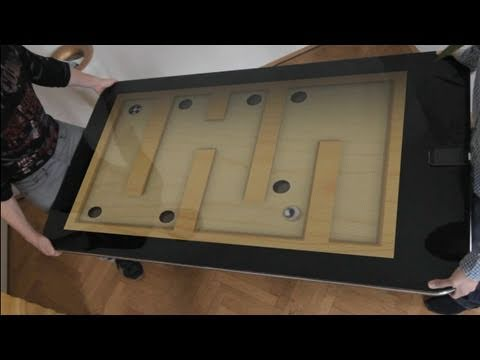 Table Connect for iPhone - Labyrinth 2 Game Test