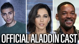 Aladdin Cast Introduced By Disney