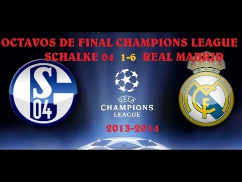 Schalke 04 1-6 Real Madrid (Champions League)