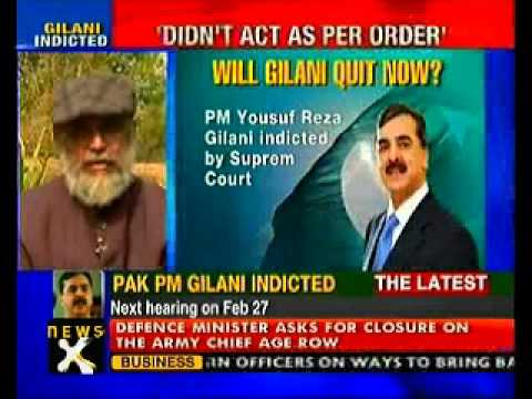 Pak Supreme Court indicts PM Gilani-NewsX