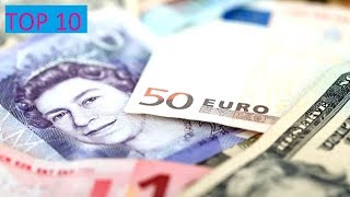 Top 10 Expensive Valuable   Currencies in  The World