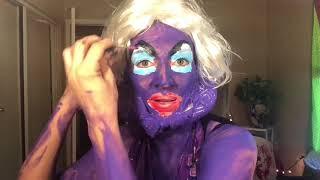 Ursula Makeup Tutorial -FAIL- After eating edibles