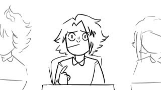 BNHA animatic-kaminari do a spellin bee