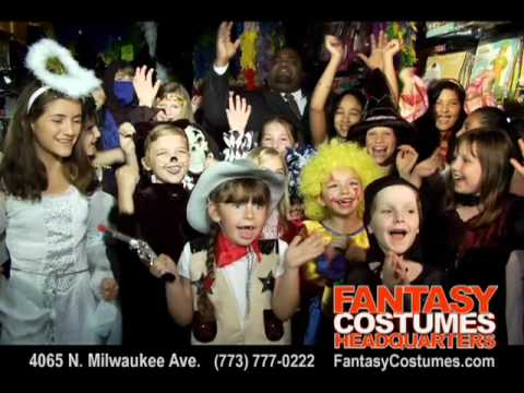 Fantasy Costumes Headquarters in Chicago, Illinois!