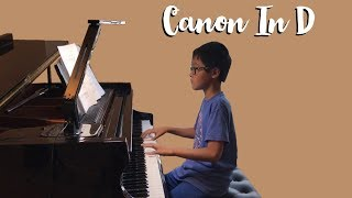 Canon in D - piano cover by Johnny Pham