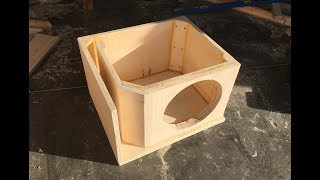 Building a Ported Box for a 12