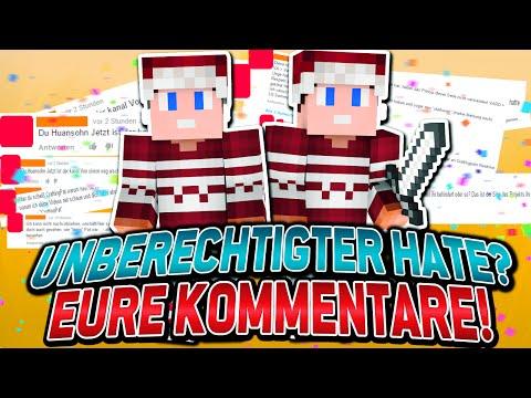 UNBERECHTIGTER HATE NACH DEM KAMPF? EURE KOMMIS! - SURVIVAL GAMES | CraftingPat