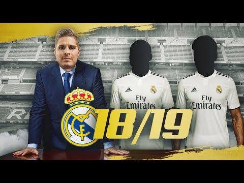 ESTOS SERIAN MIS FICHAJES PARA EL REAL MADRID 2018/19!! thumbnail
