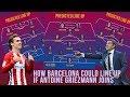 Barcelona POTENTIAL 2018 19 Line Up If Griezmann Joins Ft Coutinho Messi Dembélé Suarez mp3