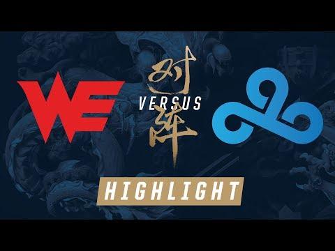 WE vs. C9 Worlds Quarterfinals Match Highlights 2017