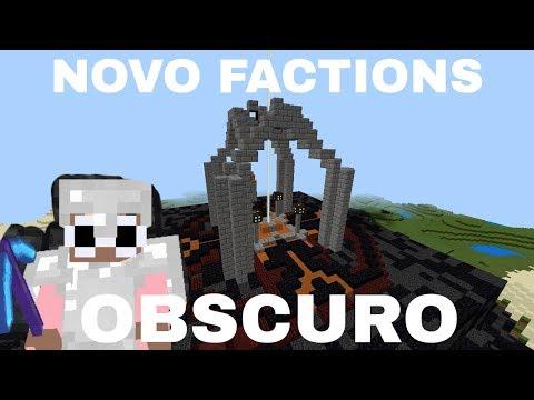 NOVO FACTIONS OBSCURO - MCPE 1.1.5 (AO VIVO) (IP NA DESC)