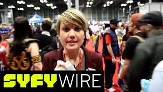 BSG's Nicki Clyne Takes You Inside NY Comic Con