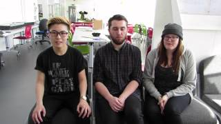 Final year students talked about Pompey