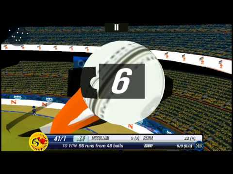 [Android] | Super Cricket 2 | National Premier League 2015 I Pro Mode | Csk V Rr I 6th Match
