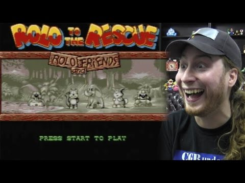 CGR Undertow - Observations and Frustrations with ROLO TO THE RESCUE for Sega Genesis