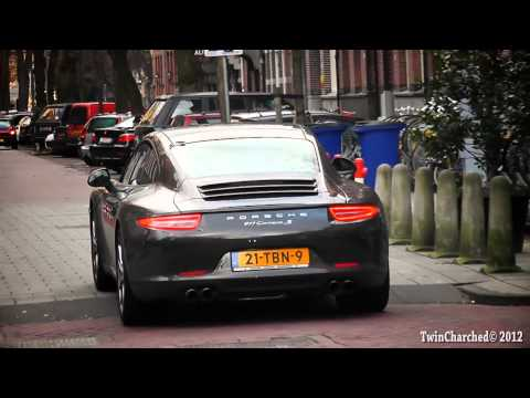 New 2012 Porsche 991 Carrera S! - Drive Off / Acceleration