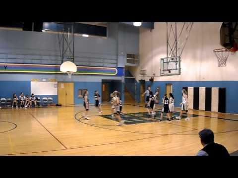 Kalyna Korok 8th grade basketball