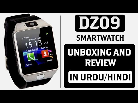 DZ09 Smartwatch Unboxing and Review Complete Detail in Urdu/Hindi