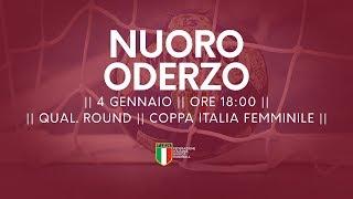 [Qual. Round] Coppa Italia F: Nuoro - Oderzo 27-36