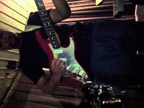 Darrien Williams on guitar