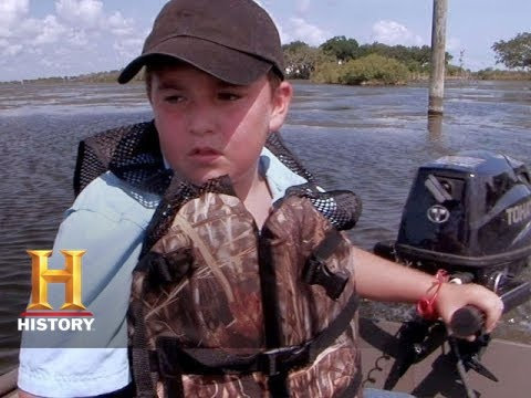 Swamp People: Liz's Boys Go Crabbing