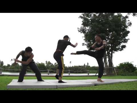 Tony Jaa Practice August 2013 video