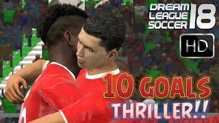 vs. VUA PHA LUOI | Dream League Soccer 18 Online | 10 Goals Thriller