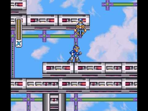 Mega Man X - Vizzed: Mega Man X 100% Walkthrough Part 4 - User video