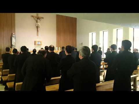 Oración, Angelus y canto Jesús dulce Memória,