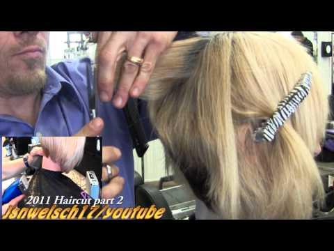 Super short Womens scissor bob haircut ✂ Short women's hairstyles ✂ Blonde scissor cut