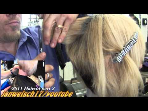 Super short Womens scissor bob haircut ✂ Short women's hairstyles ✂ Blonde scissor cut