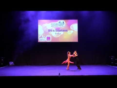 Sydney Latin Festival 2017 - ARTI & STEPHANIE SALSA