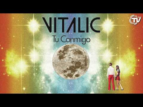 Vitalic - Tu Conmigo (Feat. La Bien Querida) - Cover Art - Time Records