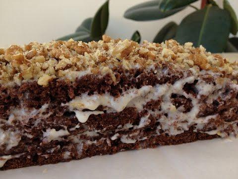 Шоколадный Торт на Кефире - Обалденный и Сочный!!! | Chocolate Cake,  English Subtitles