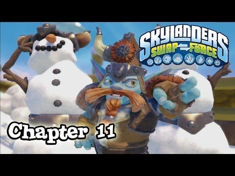 Let's Play Skylanders SWAP FORCE - Chapter 11 WINTER KEEP (Hard Mode)