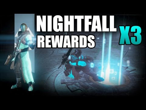 NIGHTFALL REWARDS X3 in Destiny